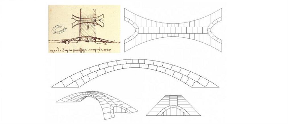 Ο Ντα Βίντσι είχε σχεδιάσει τη μεγαλύτερη πέτρινη γέφυρα στον κόσμο