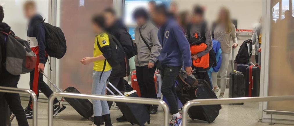 """Κορονοϊός: """"Τέλος"""" οι σχολικές εκδρομές στο εξωτερικό"""