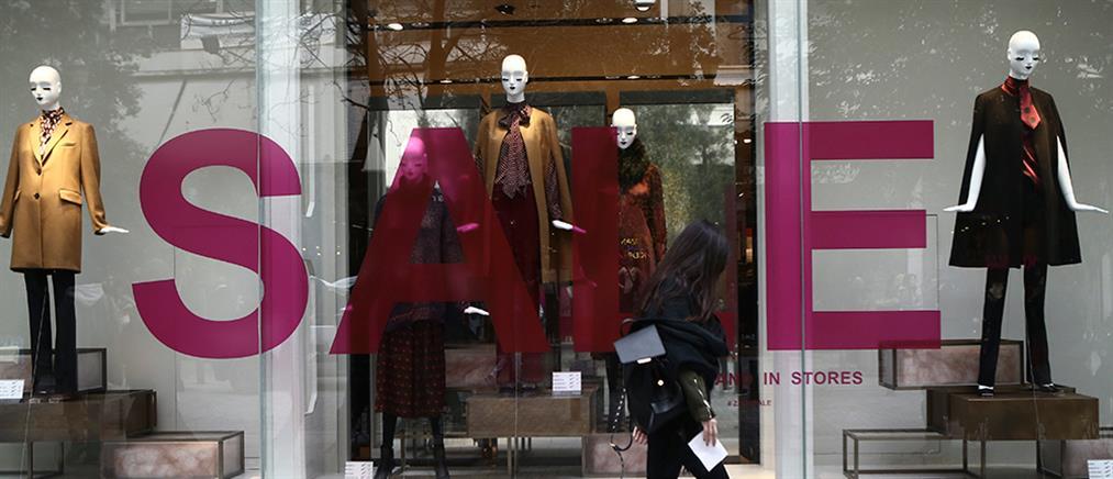 Χειμερινές εκπτώσεις με ανοιχτά μαγαζιά την Κυριακή