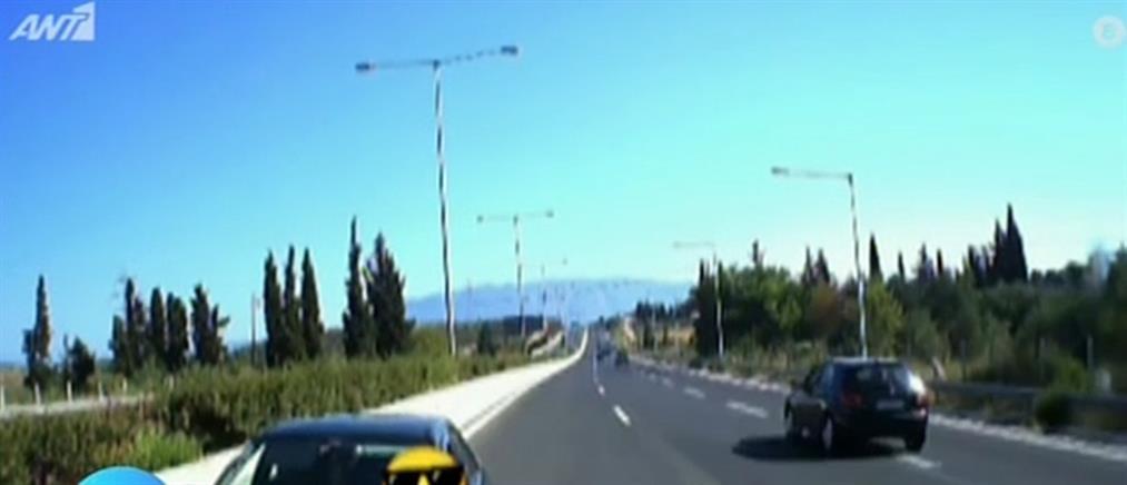Ηλικιωμένος οδηγούσε ανάποδα στην Εθνική Οδό (βίντεο)