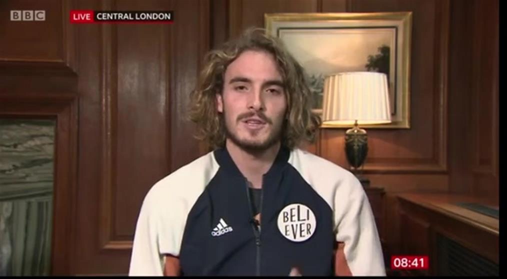 Συνέντευξη του Στέφανου Τσιτσιπά στο BBC