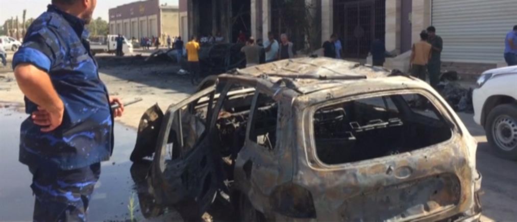 Αιματηρή έκρηξη παγιδευμένου οχήματος έξω από εμπορικό κέντρο (βίντεο)