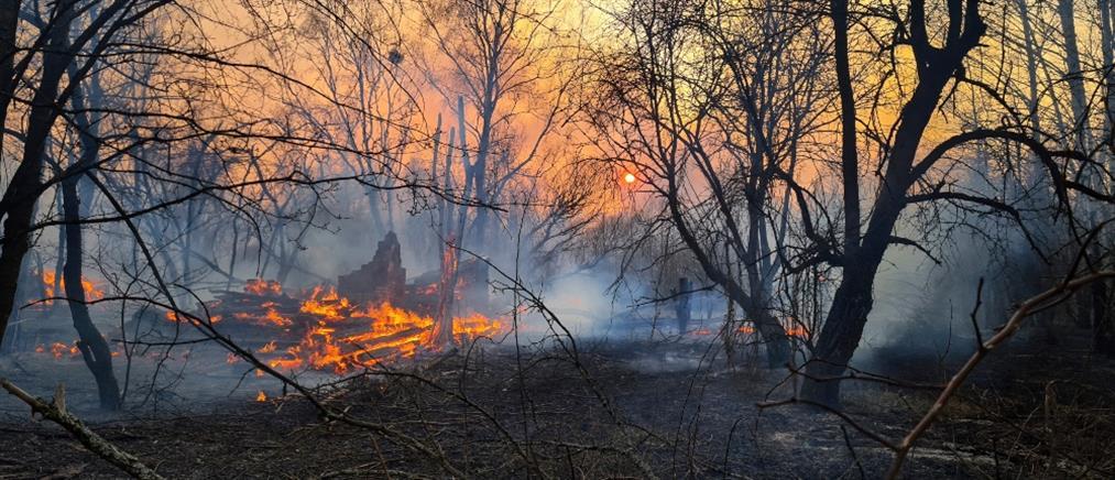 Η ΕΕΑΕ για τα επίπεδα ραδιενέργειας στην Ελλάδα μετά τη φωτιά στο Τσερνόμπιλ