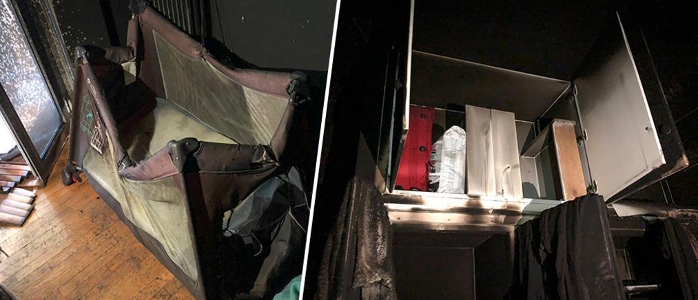 Η μητέρα που άφησε το βρέφος της σε φλεγόμενο διαμέρισμα το άρπαξε από το Παίδων