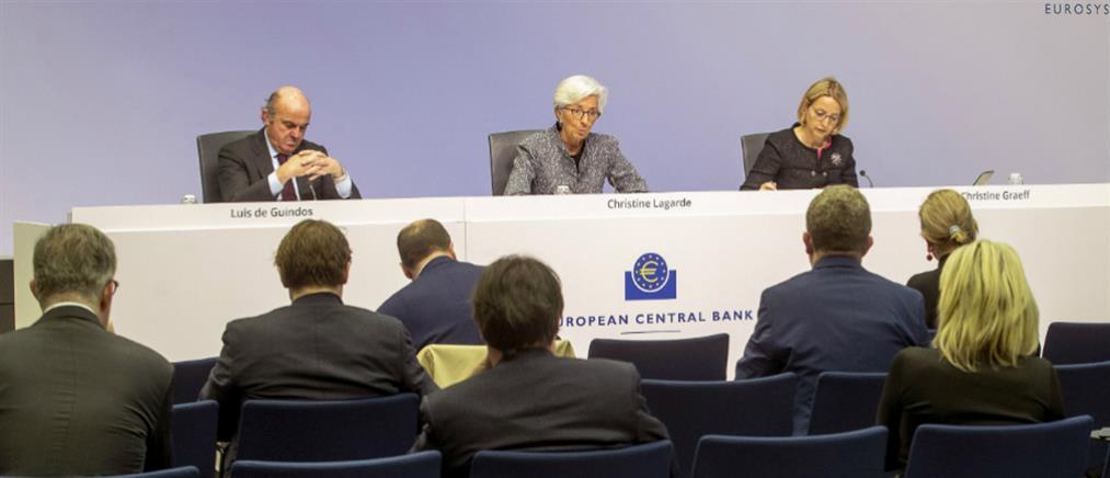 Κορονοϊός: Νέα μέτρα από την ΕΚΤ για την στήριξη της οικονομίας