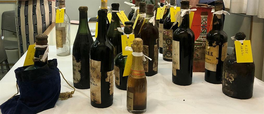 Τατόι: 4000 σπάνιες φιάλες ποτών βρέθηκαν στην κάβα του (εικόνες)