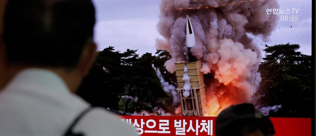 """Βλήματα """"αγνώστου τύπου"""" εκτόξευσε η Βόρεια Κορέα (εικόνες)"""