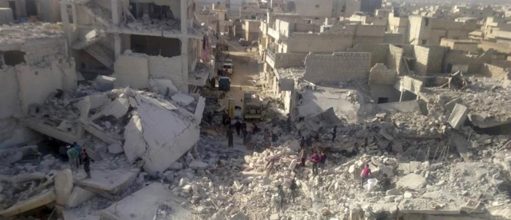 Μέρκελ κατά Πούτιν και Ερντογάν για τις σφαγές στη Συρία