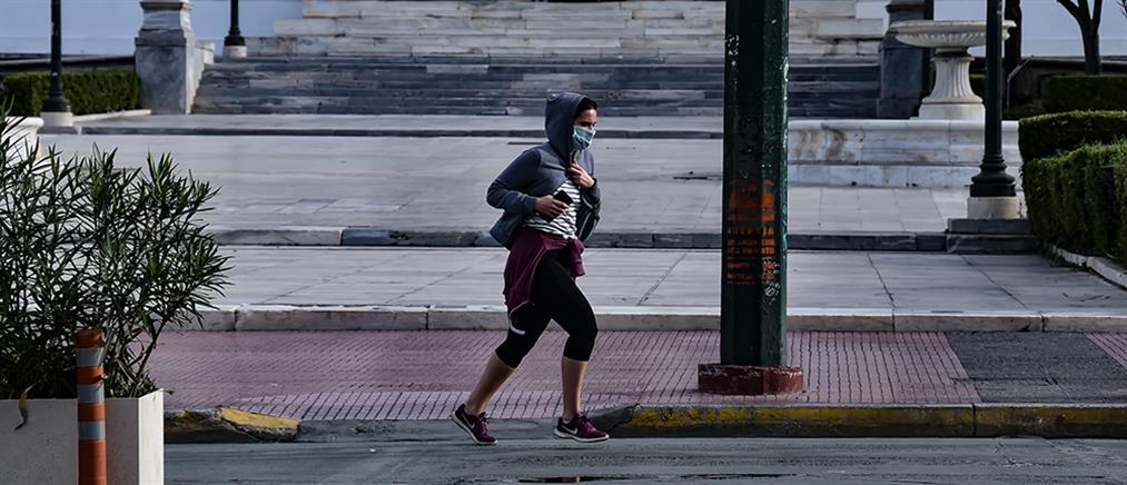 Έρευνα για την χρήση μάσκας κατά την έντονη άσκηση