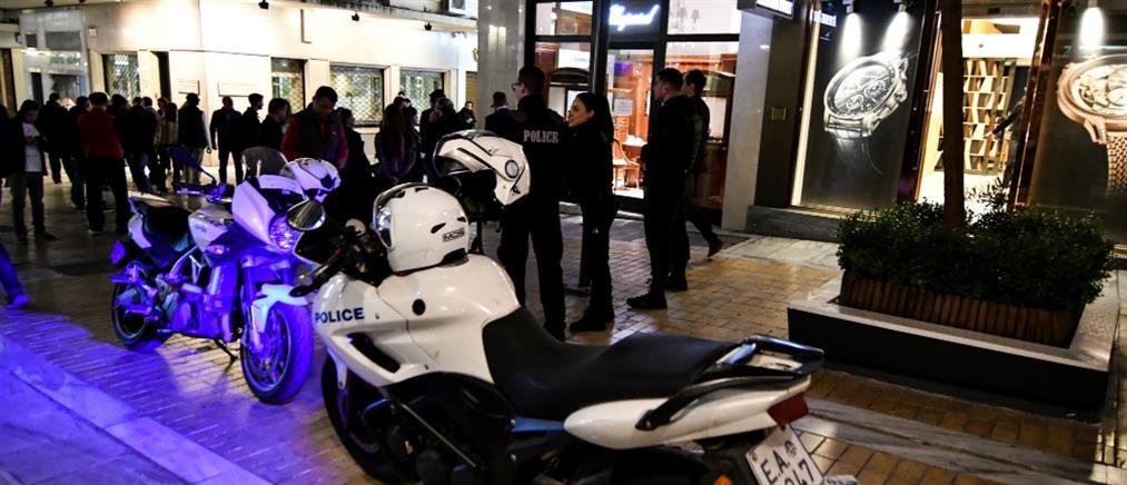 Επιδρομή κουκουλοφόρων στο κέντρο της Αθήνας