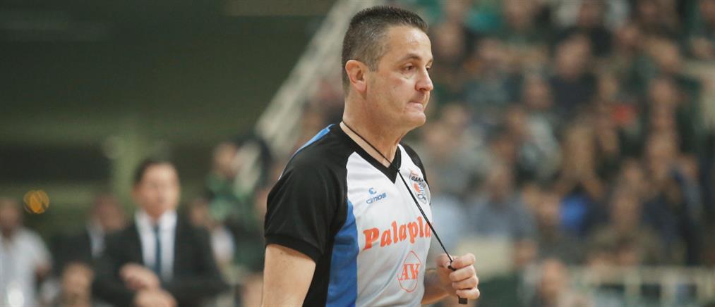 Ο Αναστόπουλος κληρώθηκε διαιτητής στο Παναθηναϊκός-Ολυμπιακός για τα play offs