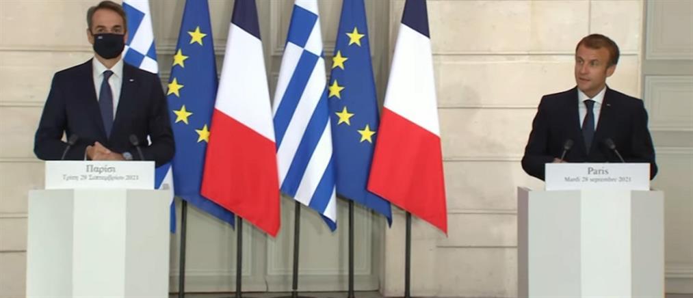 Live: Μητσοτάκης - Μακρόν για την αμυντική συμφωνία Ελλάδας - Γαλλίας