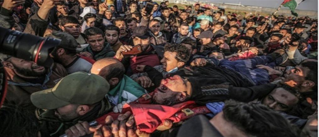 Ματωμένη Παρασκευή στη Γάζα