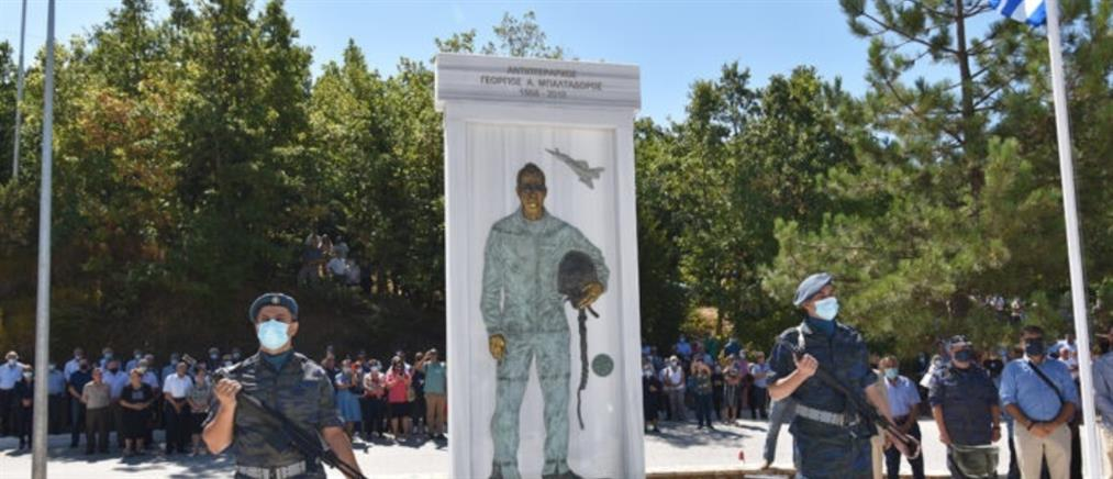 Μορφοβούνι - Μπαλταδώρος: αποκαλυπτήρια μνημείου για τον πιλότο (βίντεο)