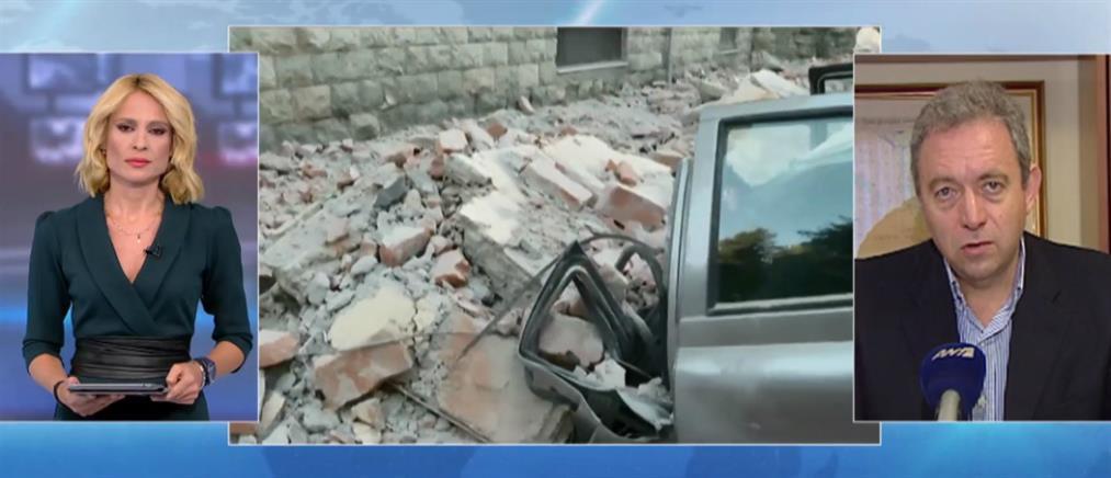Λέκκας στον ΑΝΤ1 για τον σεισμό στην Αλβανία: δεν αποκλείεται δόνηση ίδιου μεγέθους (βίντεο)