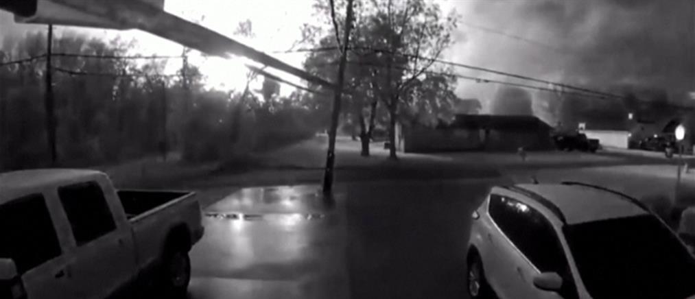 Τέξας: Βίντεο από την έκρηξη σε χημικό εργοστάσιο