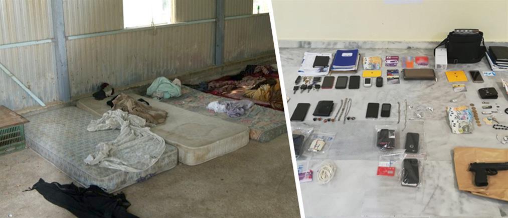 Κρατούσαν ομήρους σε πρώην πτηνοτροφείο (εικόνες)