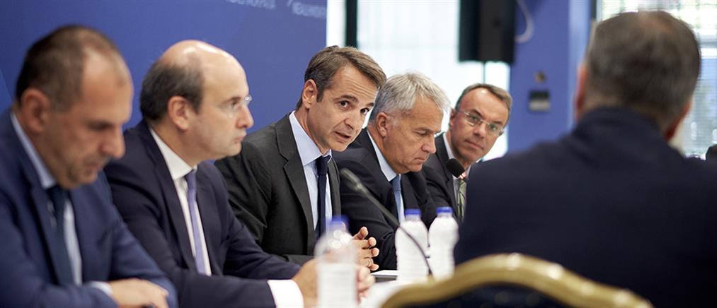 Μητσοτάκης: Εμβληματική μεταρρύθμιση η μεταφορά του ΕΝΦΙΑ στους Δήμους