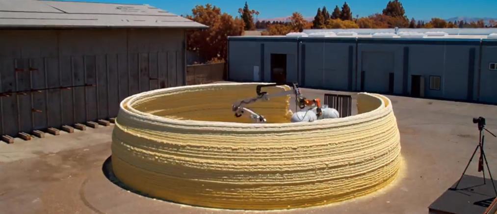 Express κατασκευή σπιτιών μέσω 3D εκτύπωσης