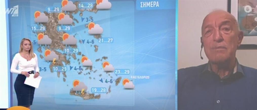 Καιρός - Αρνιακός: Επιστρέφει το καλοκαίρι τις επόμενες ημέρες (βίντεο)