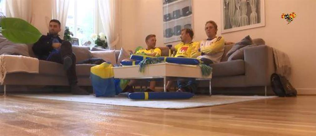 Οπαδός της Εθνικής Σουηδίας έμεινε δωρεάν στο σπίτι του… Μπέργκ! (εικόνες)