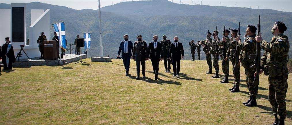 Στο οχυρό Ρούπελ ο Νίκος Παναγιωτόπουλος (εικόνες)