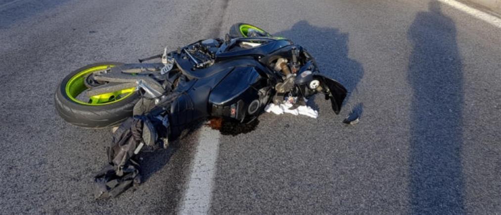 Νεκρός μοτοσικλετιστής σε τροχαίο