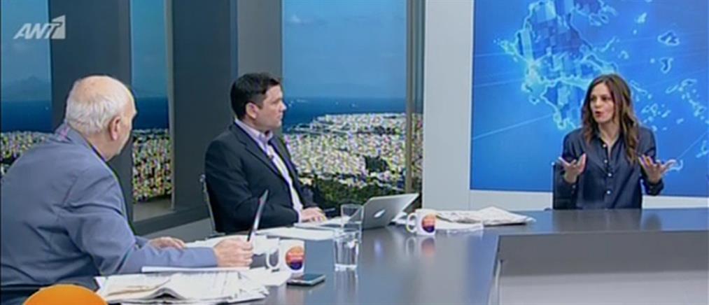 Η Έφη Αχτσιόγλου στον ΑΝΤ1 για τα αναδρομικά και τις 120 δόσεις (βίντεο)