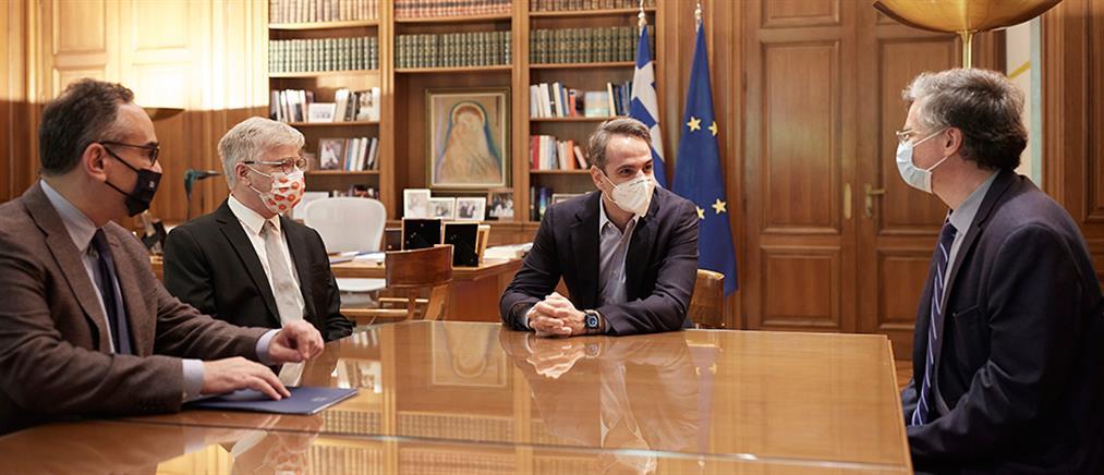 Κορονοϊός: Μητσοτάκης-Αρμπέρ συζήτησαν για το νέο φάρμακο (εικόνες)