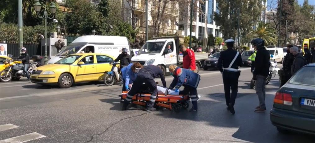 """Τροχαίο στη Βουλή: βρέθηκε ο οδηγός ταξί που αποτελεί μάρτυρα """"κλειδί"""""""