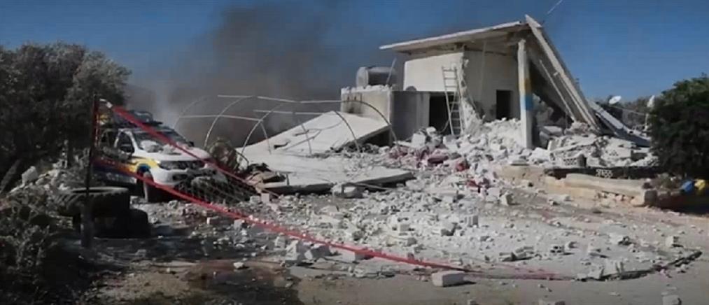 Συρία: βομβαρδισμός Κέντρου Υγείας (εικόνες)