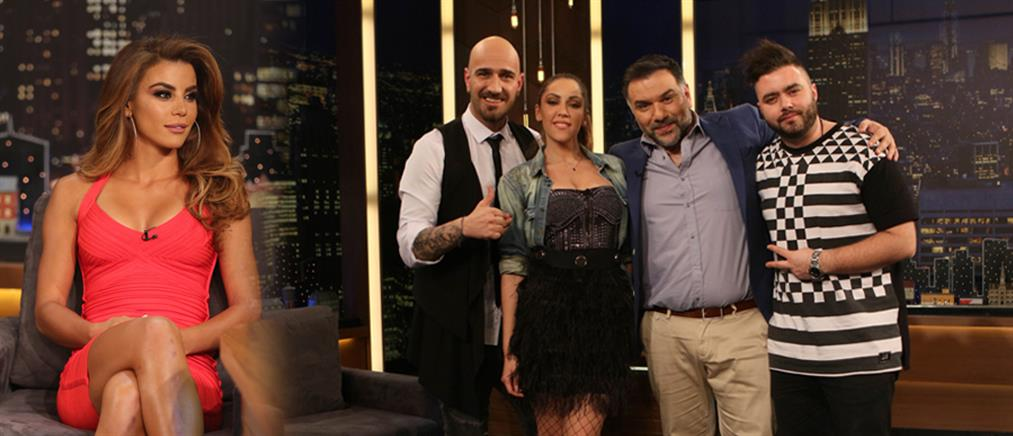 """The 2night Show"": Ο Γρηγόρης Αρναούτογλου υποδέχεται την Ειρήνη Παπαδοπούλου"