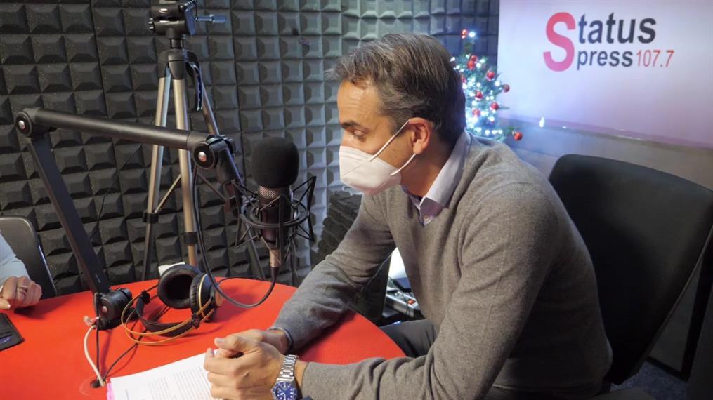 Η συνέντευξη του Πρωθυπουργού στον Status FM