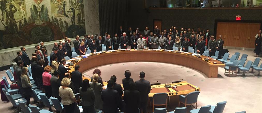 Ενός λεπτού σιγή για το Παρίσι στο Συμβούλιο Ασφαλείας του ΟΗΕ