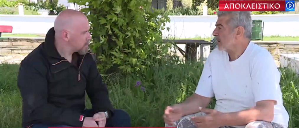 """""""Δεν πάτησε ποτέ Τούρκος εδώ"""", λέει στον ΑΝΤ1 ο αγρότης του Έβρου (βίντεο)"""