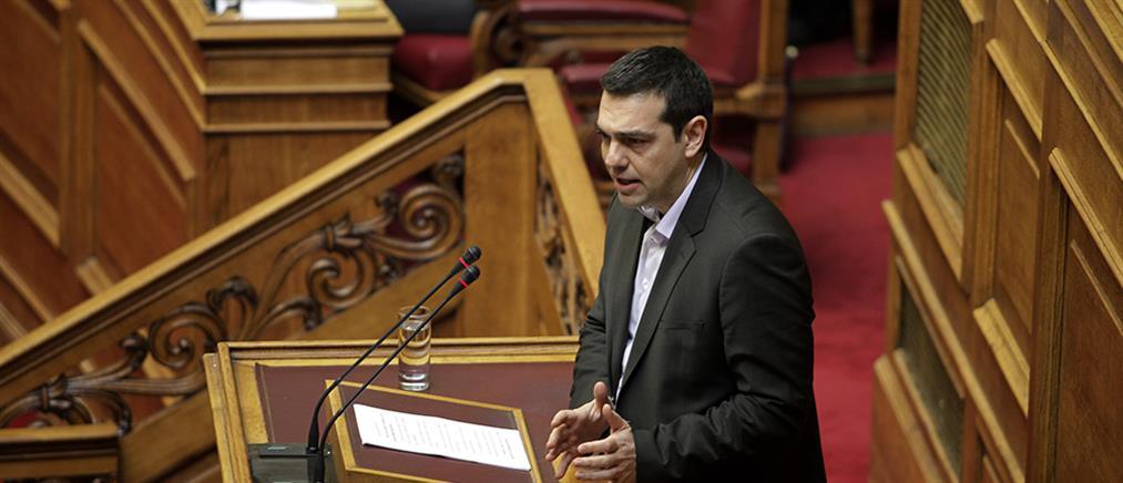 Debate στις οκτώ «έστησε» ο Τσίπρας αύριο στη Βουλή