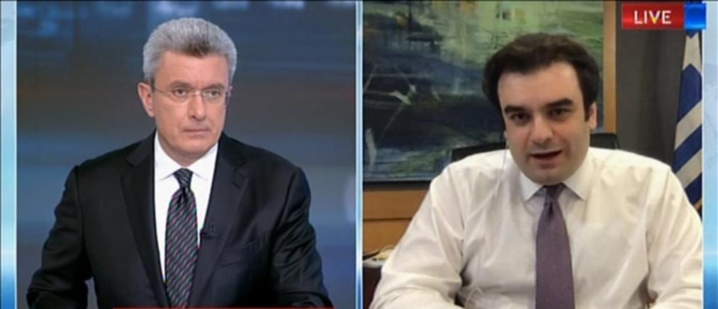 Πιερρακάκης στον ΑΝΤ1: Νέες υπηρεσίες για την απελευθέρωση από την γραφειοκρατία (βίντεο)