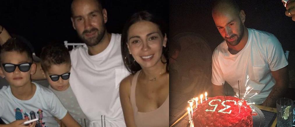 Το πάρτι και η τούρτα – υπερπαραγωγή για τα γενέθλια του Βασίλη Σπανούλη (φωτό & βίντεο)
