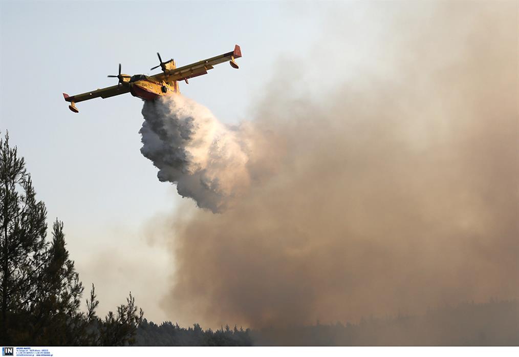 φωτιά - Βαρυμπόμπη - καταστροφές