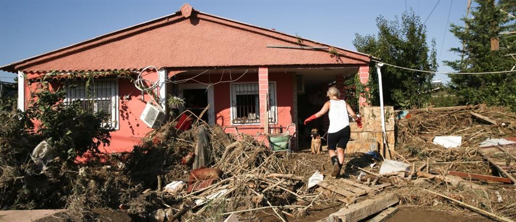 Μέτρα ενίσχυσης για τους πλημμυροπαθείς στην Εύβοια προανήγγειλε ο Γεραπετρίτης