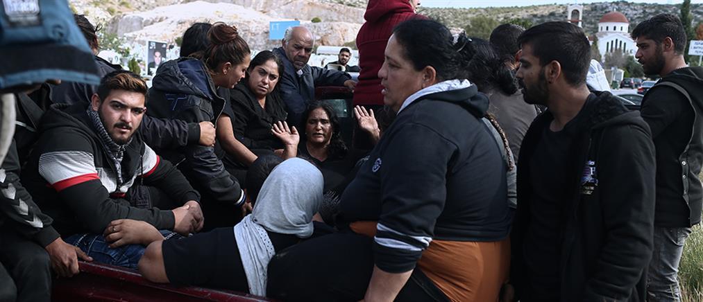 Καταδίωξη στο Πέραμα: Κηδεύτηκε ο νεαρός Ρομά (εικόνες)