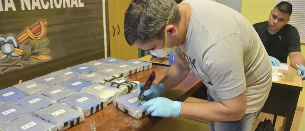 Βρέθηκαν 400 κιλά κοκαΐνης σε κτήριο ρωσικής πρεσβείας (βίντεο)
