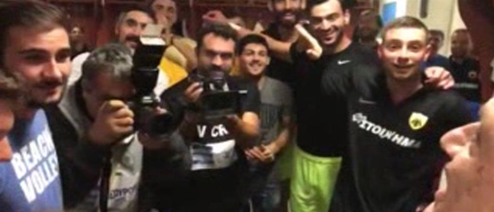 """""""Χοντρό"""" στοίχημα έβαλαν οι παίκτες της ΑΕΚ με τον Μελισσανίδη"""