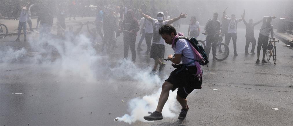 Φονικές διαδηλώσεις στη Χιλή (βίντεο)