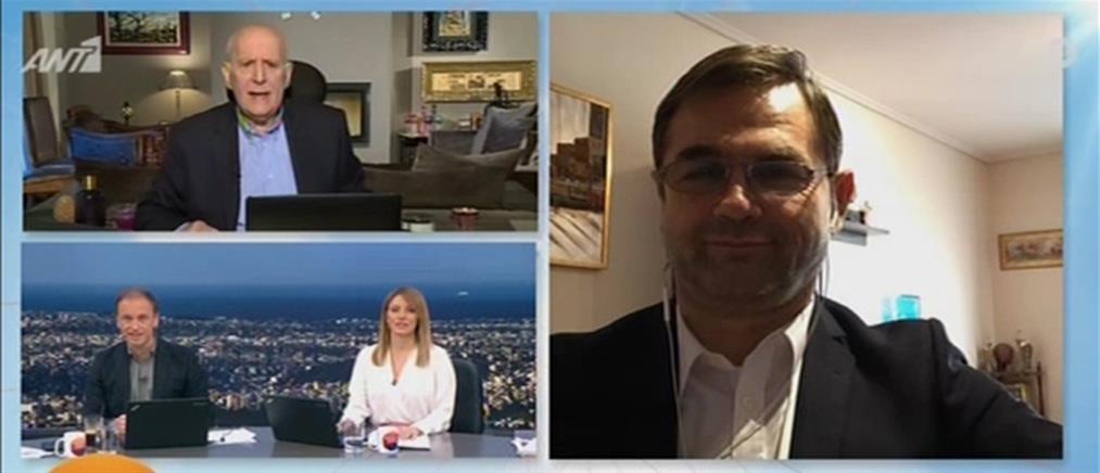 Μπαλάσκας στον ΑΝΤ1: όποιος θέλει μπορεί να ψήσει στο μπαλκόνι του (βίντεο)