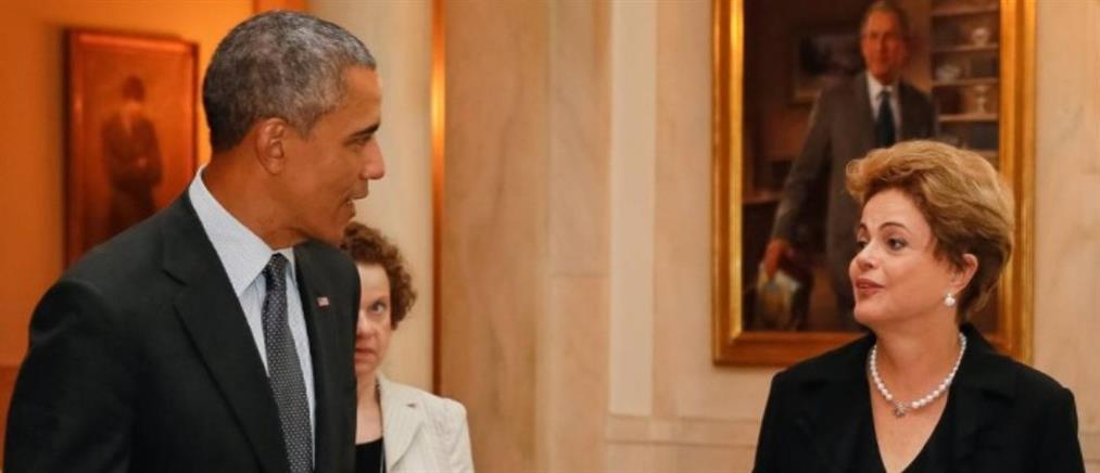 Οι Αμερικανοί κατασκόπευαν την πρόεδρο της Βραζιλίας