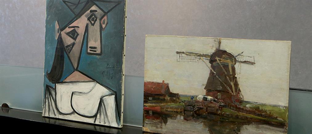 Μενδώνη για τους κλεμμένους πίνακες από Εθνική Πινακοθήκη: μέρα χαράς και συγκίνησης