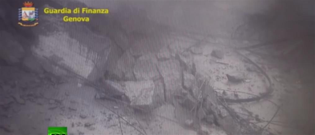 Νέο βίντεο - ντοκουμέντο από την κατάρρευση της γέφυρας στη Γένοβα
