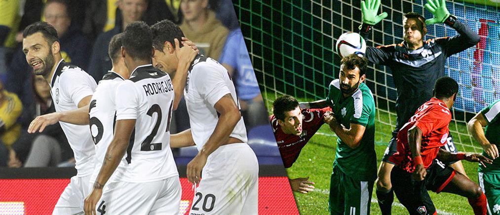 """Μόνο ο ΠΑΟΚ στο Europa League, ταπεινωτικός αποκλεισμός για τους """"πράσινους"""""""