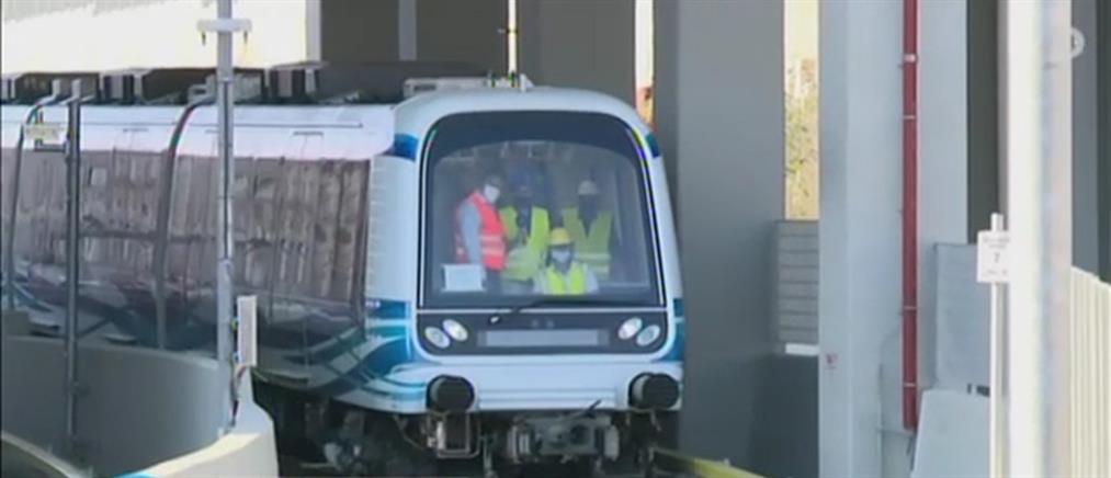 """Ο ΑΝΤ1 κάνει... """"βόλτα"""" με το μετρό Θεσσαλονίκης (βίντεο)"""